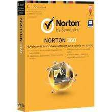 Norton 360 2013 1 year protection for 3 PCs £28.79