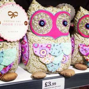 Owl Door Stop £3.99 in Home Bargains