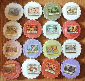 Yankee Candle Sampler Candles & Wax Tarts,WOW, only £1  instore @ ASDA, various fragrances available