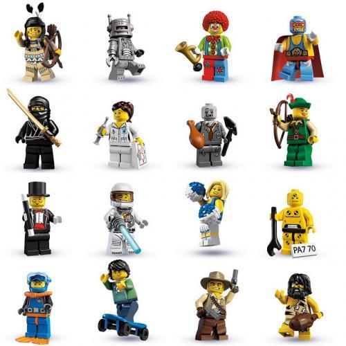 Lego minifigures - Sainsburys - £0.45