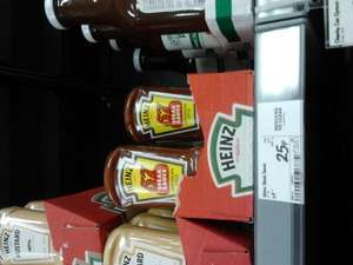 HP steak sauce asda, was £1 now 25p at Asda