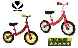 .Viking Child's First Balance Bike - Kid's Bike £59.99 reduced to £32.98 delivered @ Rutland Cycling