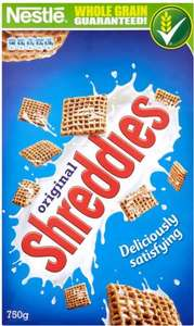 Nestlé Shreddies (750g) £1.60 @ Waitrose