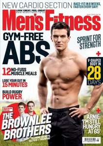 Mens Fitness [5 Issues for £5] + FREE Colgate C200 Electric Toothbrush worth £64.99 !