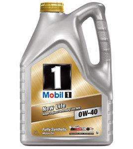 Mobil 1 New Life 0W40 Fully Synthetic Motor Oil 5L, £35.23 @ Amazon/RRD Automotive