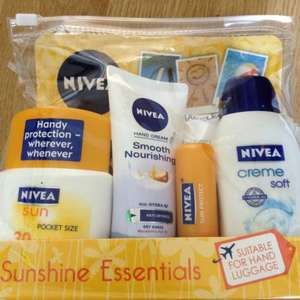 Nivea Sunshine Essentials Suitable for Hand Luggage Travel Set £5 Asda (£15 elsewhere)