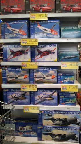Various Revell Scale Model Kits from £1.99 @ Home Bargains (Prenton)