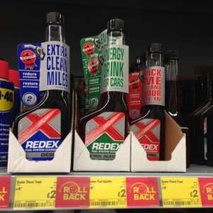 Redex diesel and petrol additive £2.00 @ Asda instore
