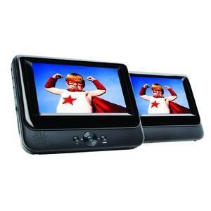 "7"" Twin Screen Portable DVD Player @ Maplin £49.99"