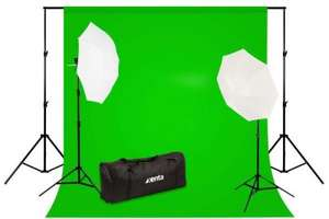 Professional Photo Studio Backdrop and Lighting Kit £50 @ ebuyer.com free delivery