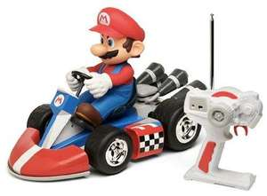 Nintendo 40CM Super Mario R/C Mario Kart 1:8 Scale was £100 now £45 @ Tesco Direct (using code)