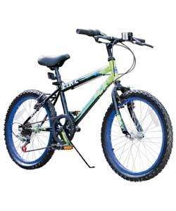 Buy Zinc Rigid 20 Inch Mountain Bike - Boys' at Argos.co.uk - Your Online Shop for Limited stock Toys and games, Outdoor toys, Children's bikes, Children's bikes.