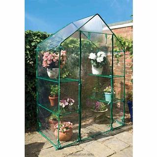 Walk-In Greenhouse - B & M - £9.99
