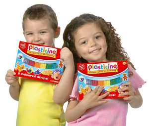 Plasticine 8 Pack Classic Colours was £1 now 50p del to store @ Asda