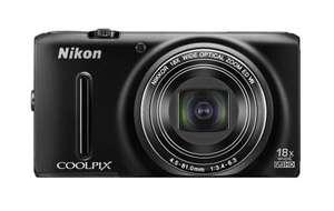 Nikon Coolpix S9400 Camera - Black (18.1MP, 18xZoom, 25mm Wide Lens) 3.0 inch OLED £170.00  @ Amazon