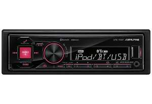 Alpine UTE-72BT Car Stereo, with Bluetooth, USB & Ipod control £74.99 delivered @ Halfords