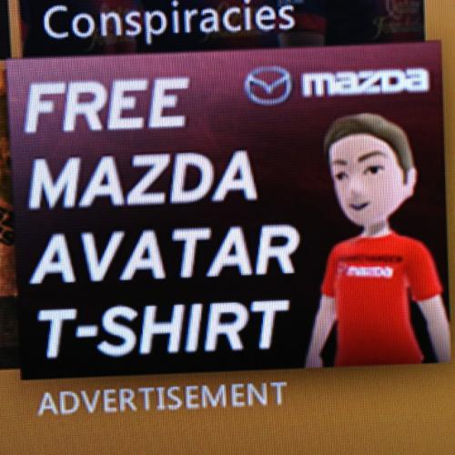 FREE - Xbox 360 / Mazda Avatar T-Shirt