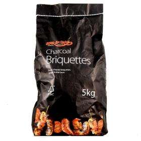 Bar-Be-Quick Briquette Charcoal 5kg for 3.75 @ Asda