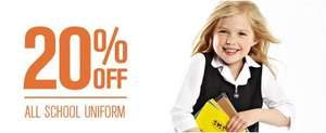 20% off all school uniform @ BHS