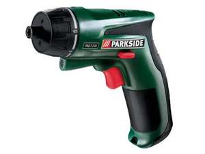 7.2V Li-Ion Cordless Screwdriver - 6 torque settings (10 Nm) - Spindle Lock - 3 year warranty - £19.99 instore Lidl from Monday 5th Aug