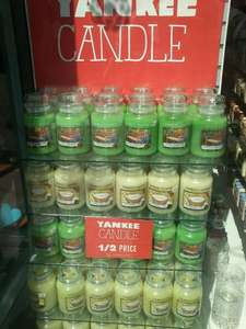 Yankee candles 1/2 price -  (Example) Large all £9.99 @ Hallmark Outlet Junction One,Antrim,N.Ireland
