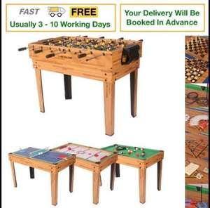 Dunlop 20 in 1 Multi Game Table - £62.99 delivered with code @ Sports Direct