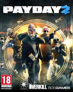 Pre-order Payday 2 PC Download with Loot Bag DLC £19.99 @Game