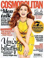 Cosmopolitan magazine Try 3 issues for £3