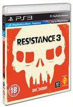 Resistance 3 PS3 £4.97 at Blockbuster.co.uk