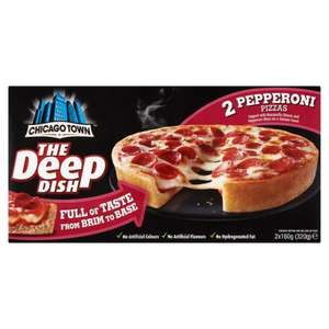 Chicago town pizza pepperoni £1.00 - 50p after cashback at Tesco!