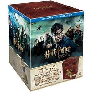 Harry Potter: Wizard's Collection Blu-ray Box Set (31 Discs) (with UltraViolet) £99.99 @ Play sold by EntertainmentStore (Today only!)
