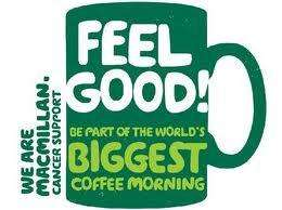 Free World's Biggest Coffee Morning kit @ MACMILLAN SUPPORT