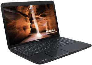 Toshiba Satellite Pro C850 15.6 inch Laptop (Intel Core i3 2348M 2.3GHz Processor, 4GB RAM, 500GB HDD, DVD±RW, HDMI, WLAN 802.11n, USB 3.0, Webcam, Windows 8 64 Bit - £264.77 @  Amazon