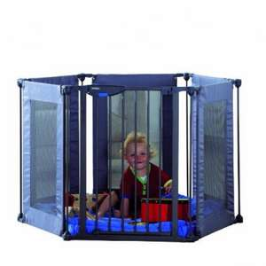 Lindam Safe & Secure Fabric playpen now £56.99 inc Del Amazon was £94.49