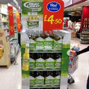 Bud Light Lime 6x330ml £4.50 in some Asda stores