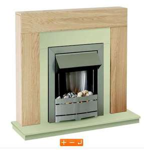 Electric fire and surround £140.78 @ B&Q