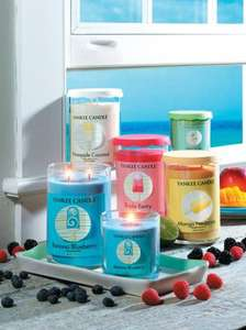 Yankee Candle COOL POPS LIMITED EDITION RANGE are now 50% OFF! WHILE STOCKS LAST..large tumblers £9.99 at yankee direct