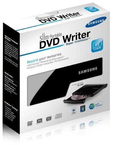Samsung Slim Portable DVD Writer - Tesco - £6.99