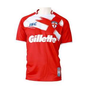England Rugby League Replica Shirt Home/Away Adults £9 / Kids £6 plus £4.99 UK Delivery