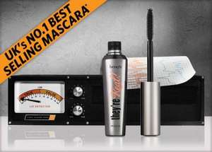 Benefit They're Real Mascara Offer buy standard size for £19.50 and get the mini one free worth £9.99 @ Benefit Cosmetics