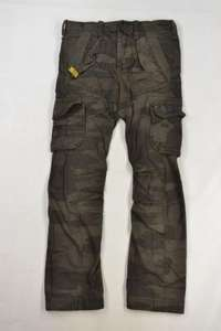 New Mens Superdry Hurricane Cargo Trousers Camo Green £29.99 @  eBay / The Superdry Store