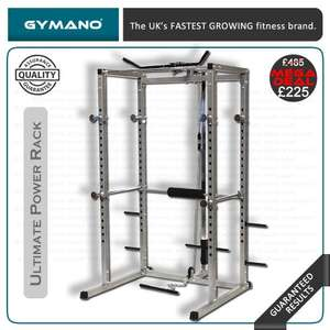 GYMANO Power Rack with Lat Pull £225 @ BritishFitness/Ebay