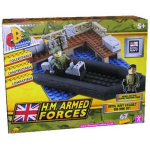 LEGO and HM Armed Forces Character Building products in sale from £3.99 @ base.com + FREE Delivery + possible 4% Quidco