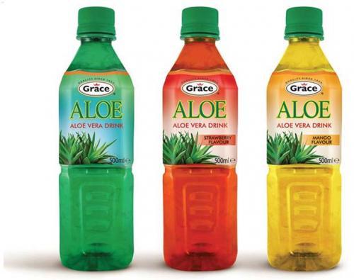 Grace Aloe vera drink 500ml bottle now 75p @ tesco