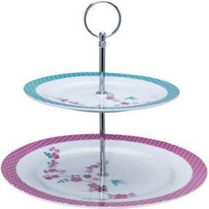 two tier cake stand £3.99 @ Argos