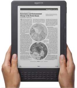 "(Approx £203.44) Amazon Kindle DX Graphite, 9.7"" E Ink Display, Free 3G (3G Works Globally)"