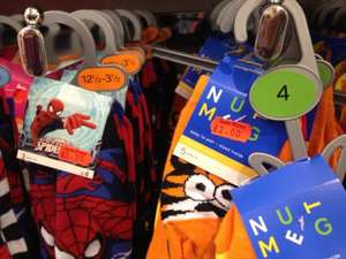 Half price clothing sale at Morrisons nutmeg clothing range