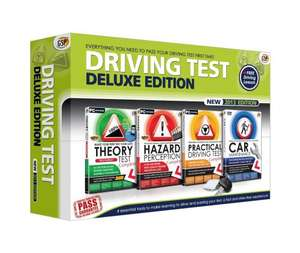 Driving Test Deluxe 2013 Edition (PC) plus free driving lesson from LDC (Learner Driving Centres) @ Amazon