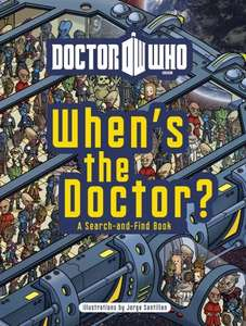 Doctor Who: When's the Doctor? (Hardback) - £1.79 @ Amazon!