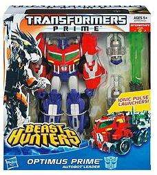 [Tesco In Store] Transformers Prime Beast Hunters Voyager Optimus Prime 25cm Figure £16